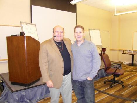 Saul Maraney and Dr. Joe Vitale