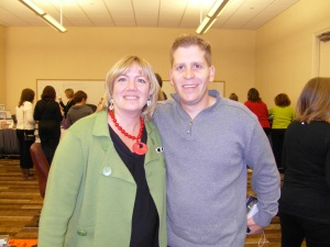 "Saul Maraney and TwentyTwenty and Carol Wingert at the ""Attract Wealth 2"" Seminar in Austin, Texas – January 2009"