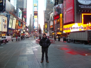 Saul Maraney in New York City – January 2009